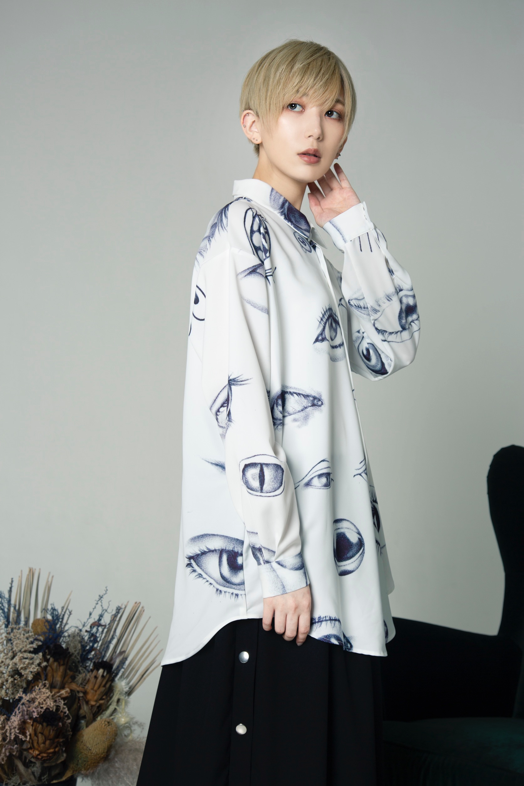 0658 6th collection【 The under eye 】× 光宗 薫 collection【 snail mouth 】